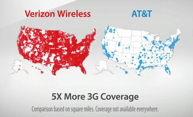 Сотрудничество американских операторов связи AT&T и Verizon Wireless