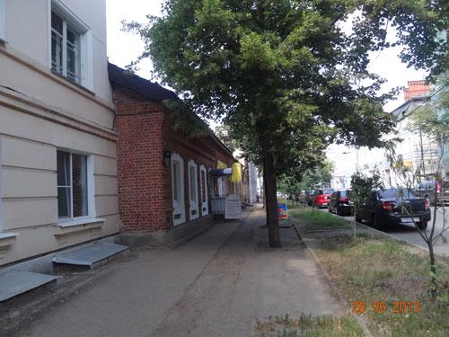Точка выдачи в г. Казань - вид с Горького