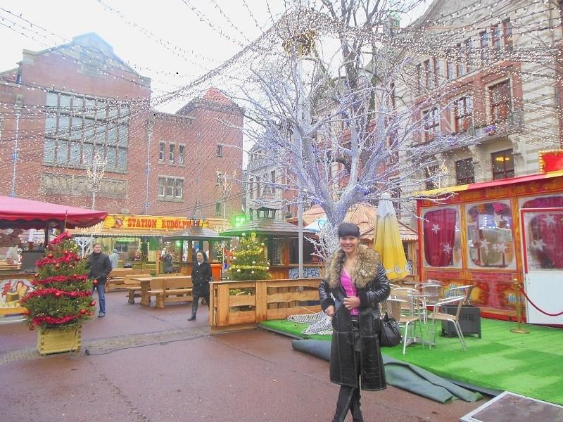 Амстердам на зимних каникулах с мобильным интернетом 200 Мб за 3 евро в сутки от Vodafone.