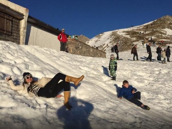 Отзыв о тарифе от испанского оператора Водафон, на лыжах в Австрии (Инсбрук).