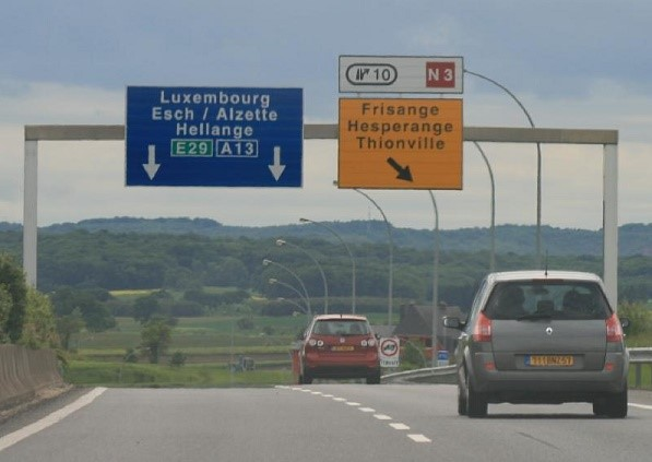 Автомагистрали Люксембурга