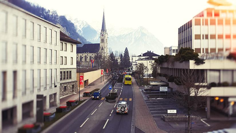 Автомобильные дороги Лихтенштейна