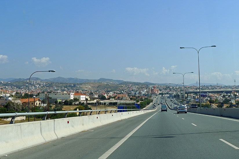 Автодороги Кипра