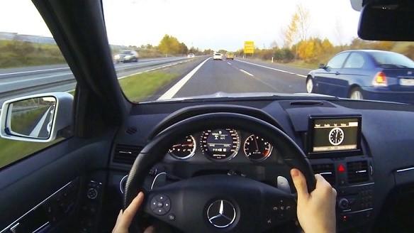 Германия, за рулем автомобиля