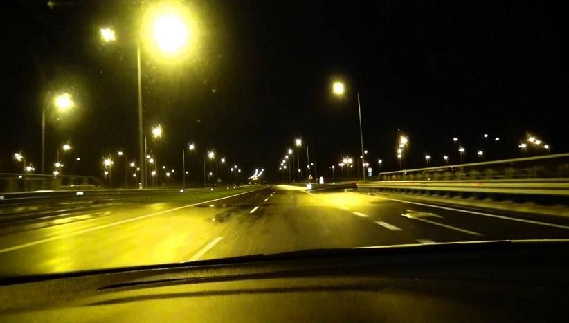 Ночные дороги Польши
