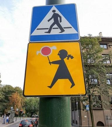 Правила дорожного движения в Польше