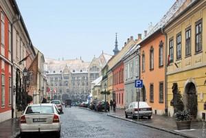 Буда,старый город,Будапешт
