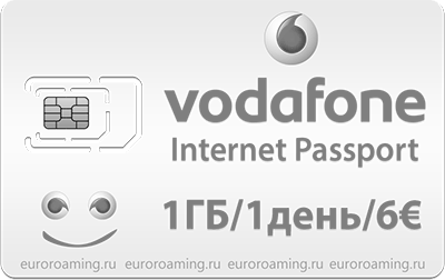 Сим-карта Vodafone Internet Passport