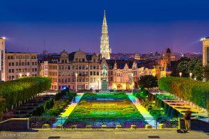 Путешествие на автобусе по Бельгии
