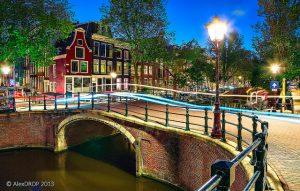 Путешествие на автобусе по Нидерландам