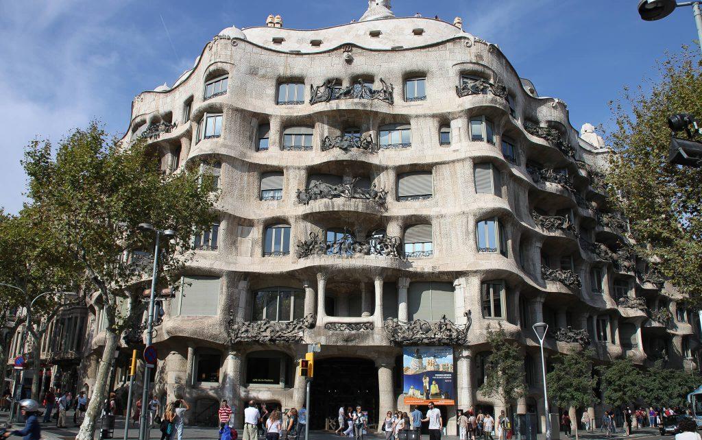 Дом Мило Барселона Испания