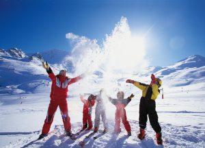 отдыхать на горнолыжных курортах нужно всей семьей