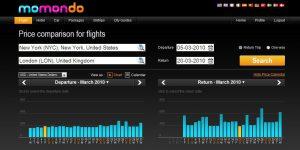 Поисковик Momondo предлагает качественные услуги для туристов