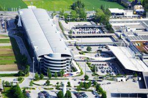 Аэропорт в Зальцбурге
