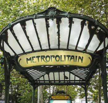 французский метрополитен