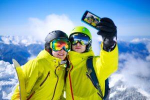 мобильная связь на горнолыжном курорте