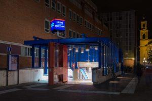 метро в голландии обозначается синей М