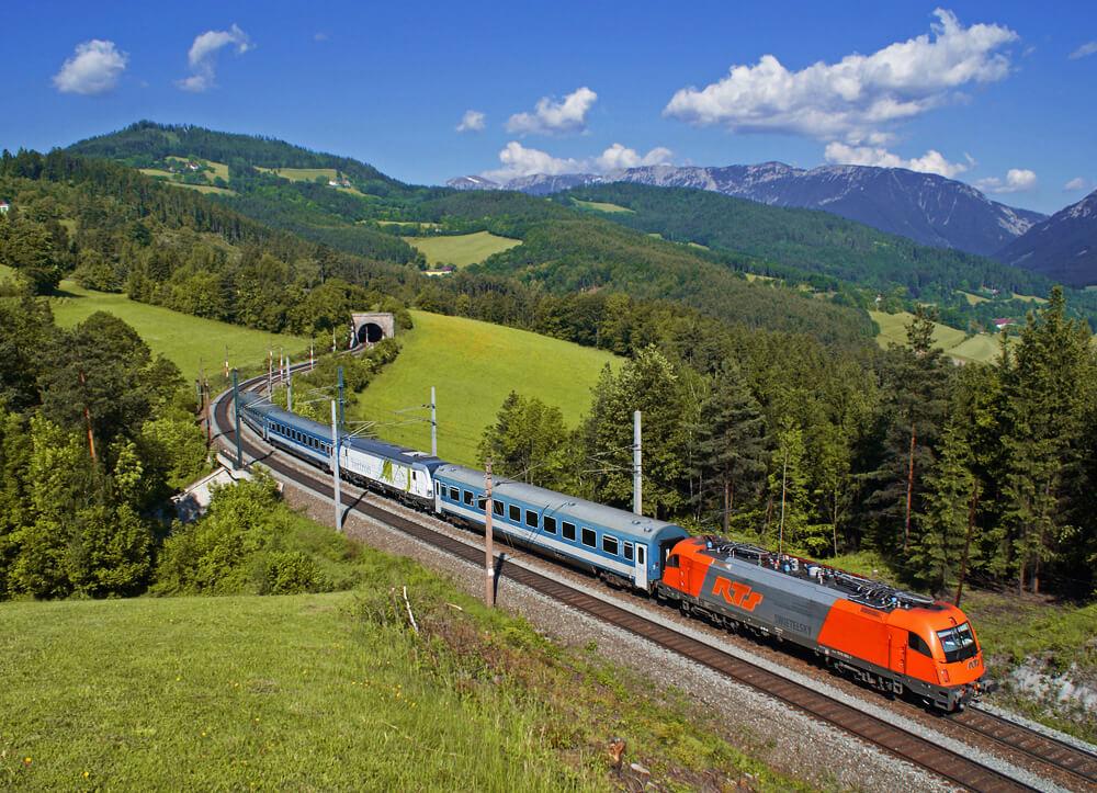 Железная дорога в Австрии
