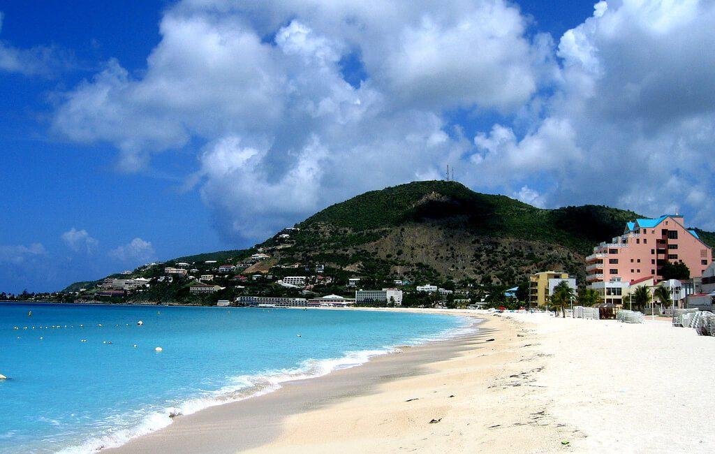 чистейшие пляжи сен-мартена