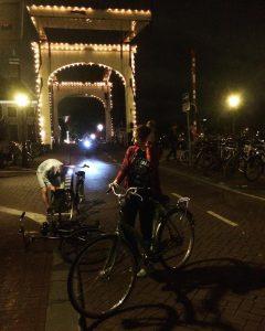 ночной амсердам