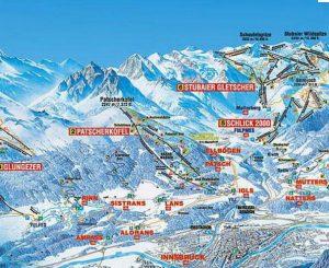 схема горнолыжных трасс австрии