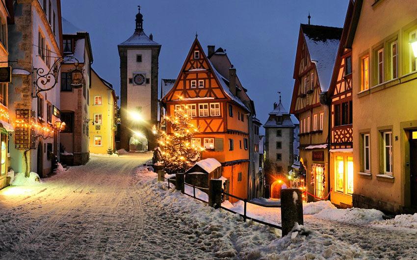 Новогодние праздники в Германии