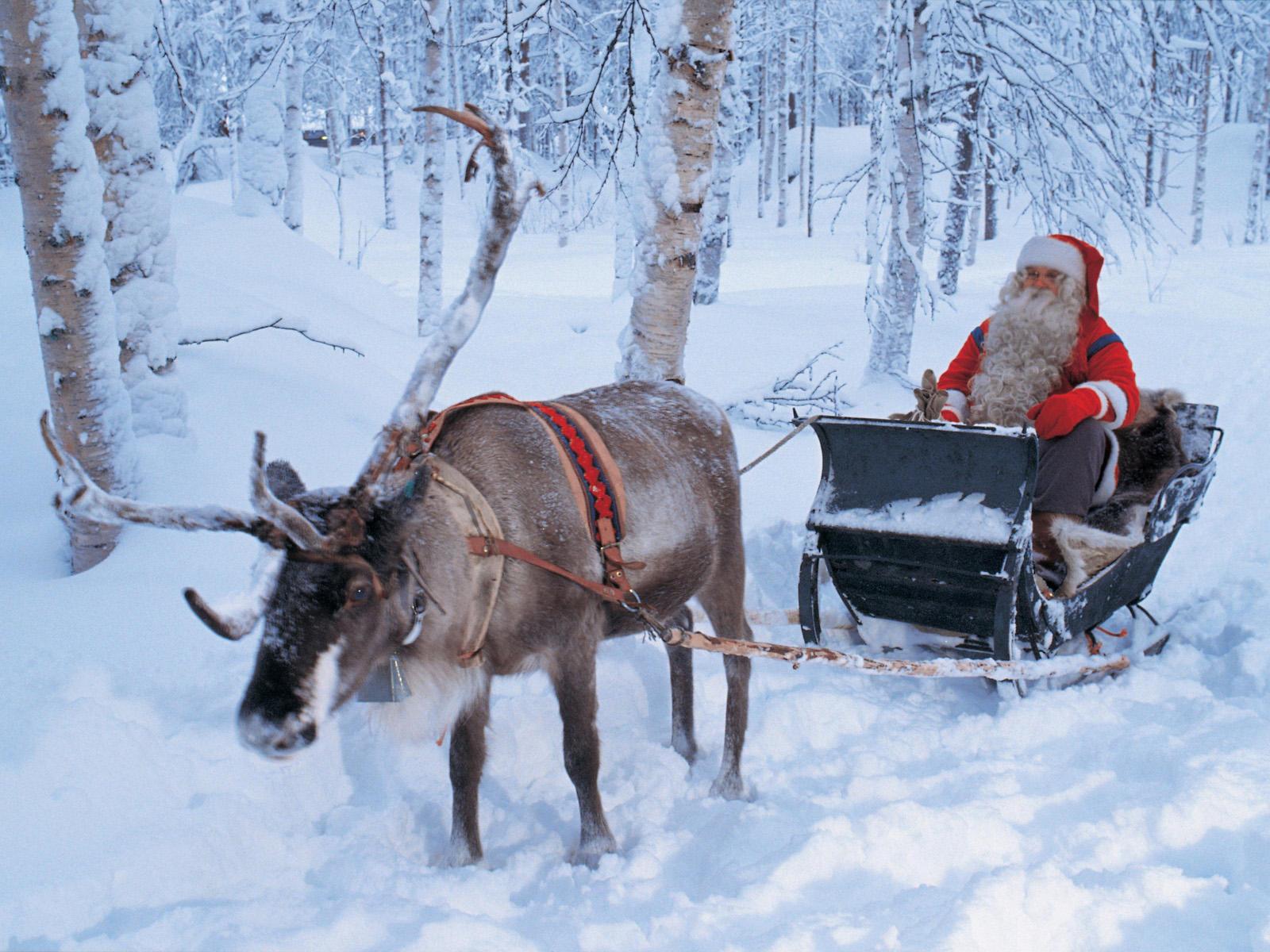 Новый год в Финландии
