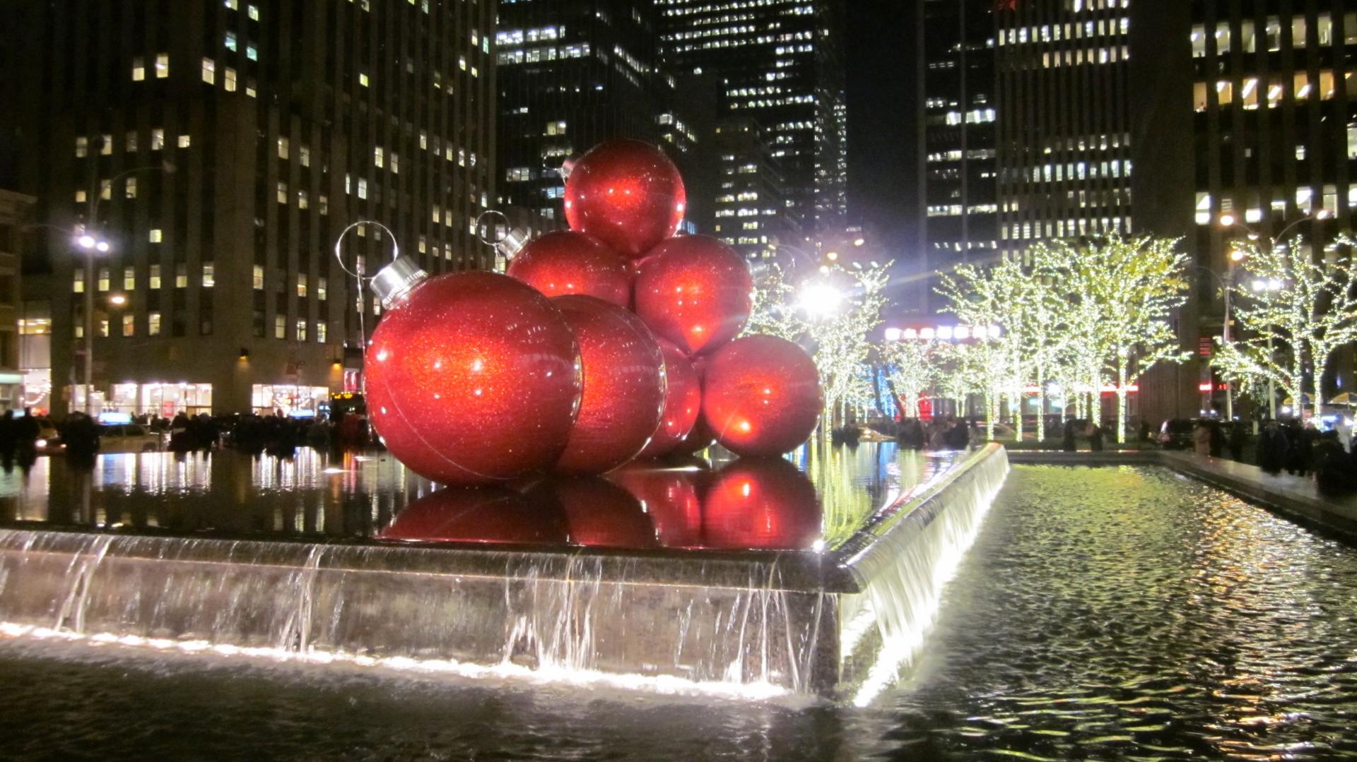 Новый год в Нью-Йорк