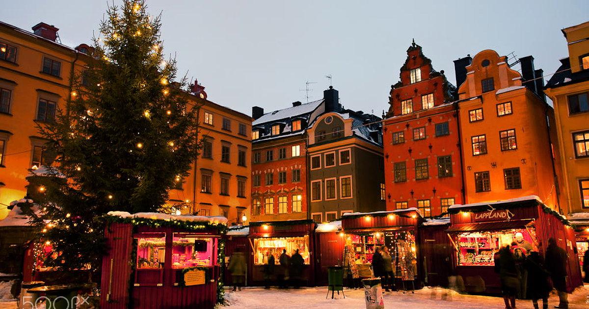Новій год Швеция