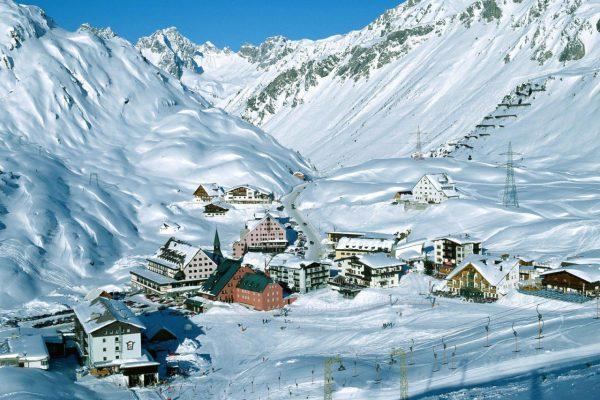 горнолыжный курорт Австрия 1