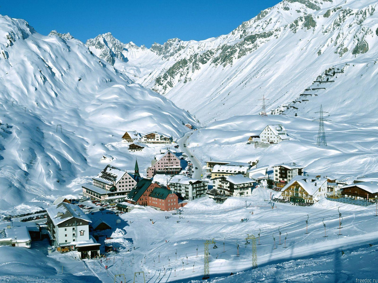 Как выбрать горнолыжный курорт в Австрии?