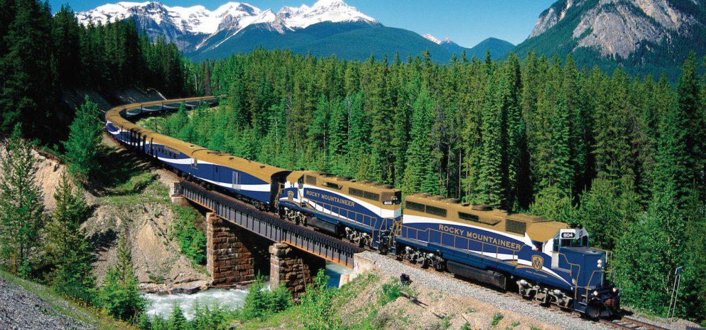 Путешествия на поезде Канада