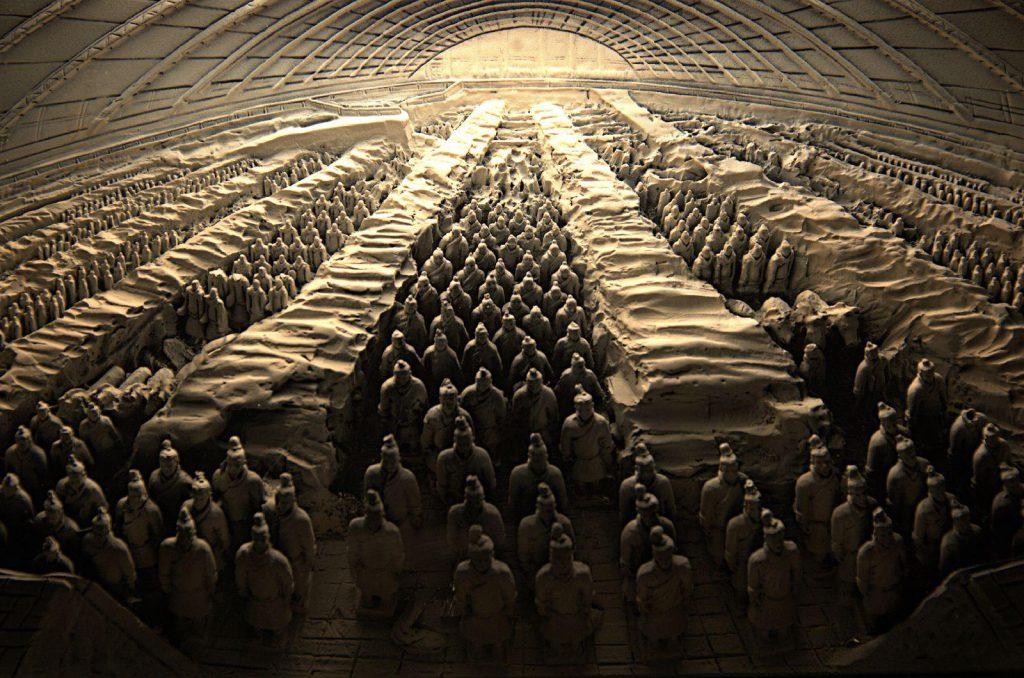музей «Терракотовой армии» китай