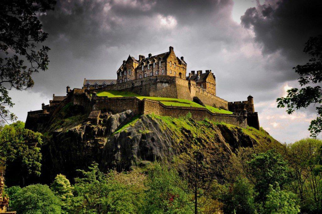замок Шотландия путишествие