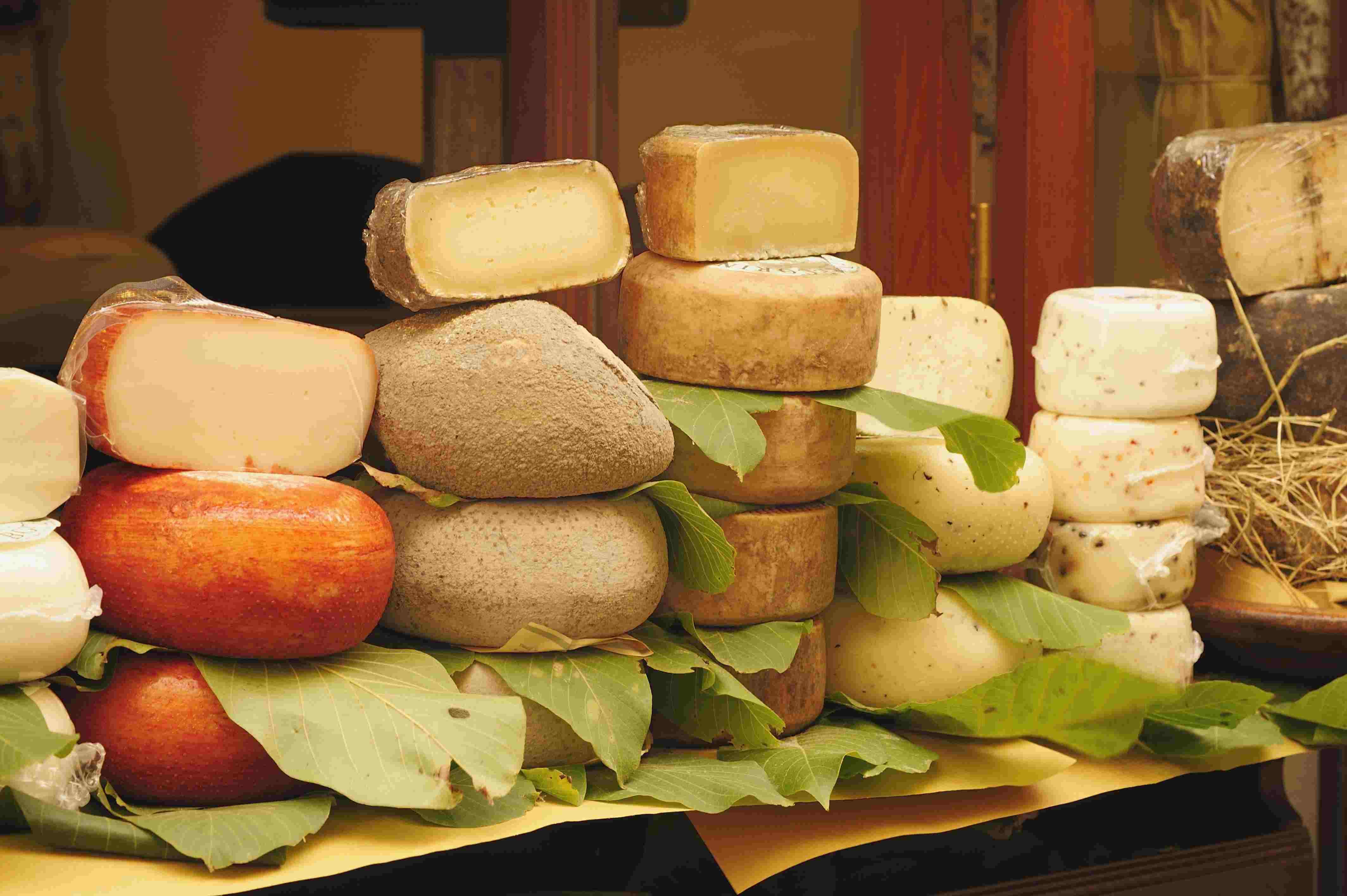 Сырный туризм в Италии
