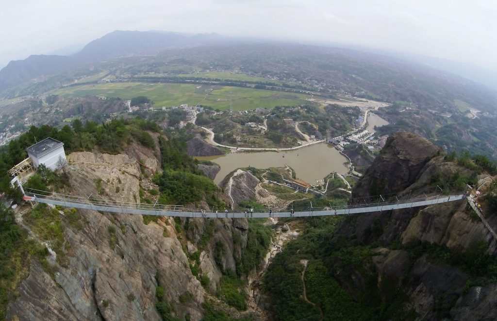 Hunan glass bridge