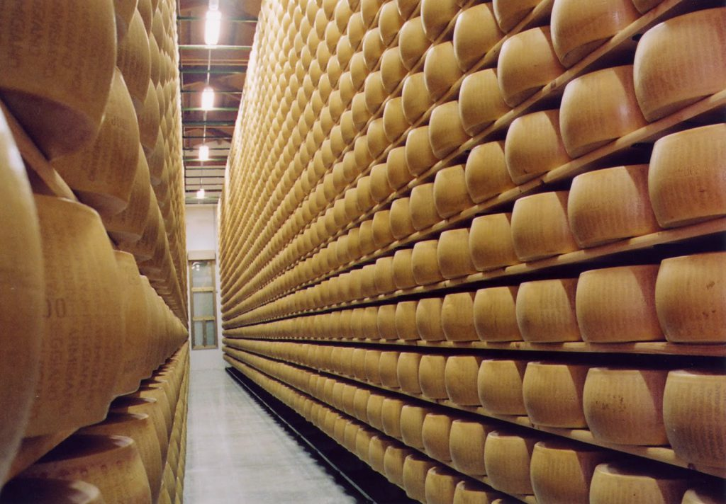 Сырное путешествие в Италию 1