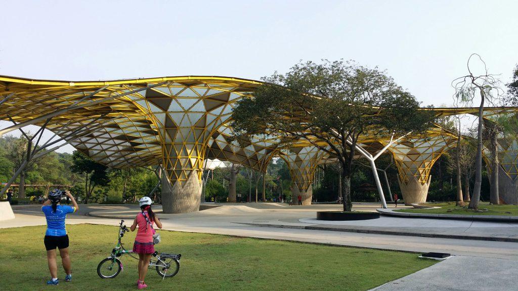 Озерный парк Куала-Лумпур