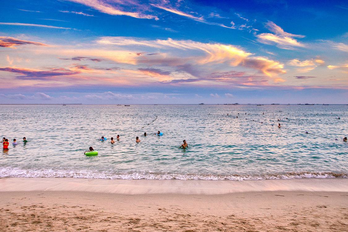 hainan пляж