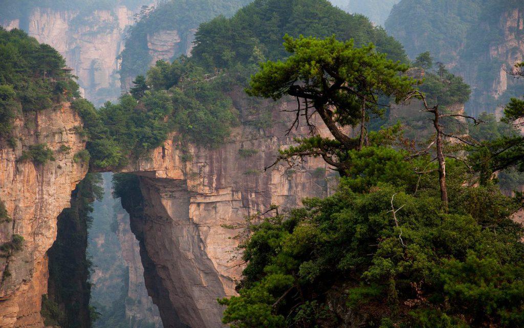 пещера «Небесные врата», китай