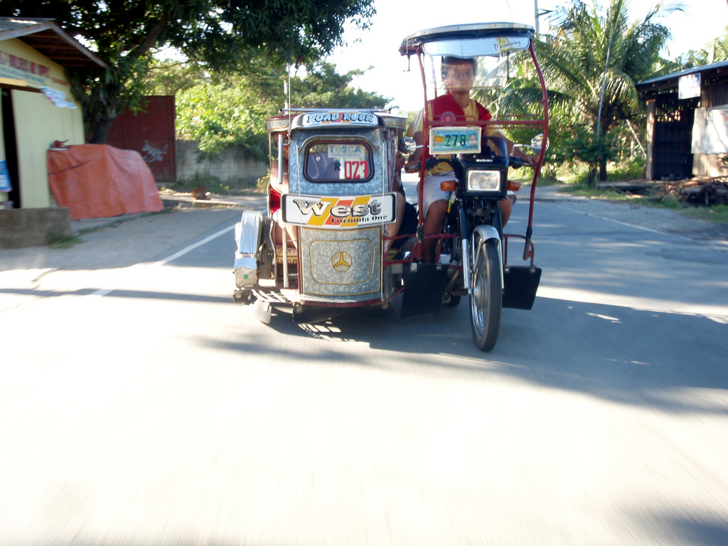 такси на Филиппинах 2