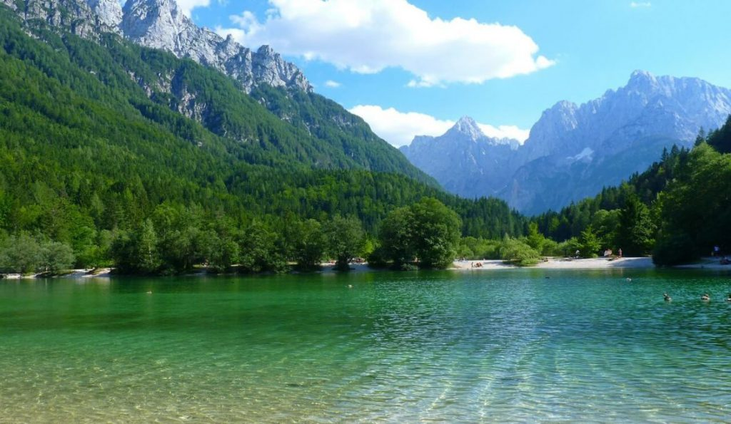 Picturesque places in Europe