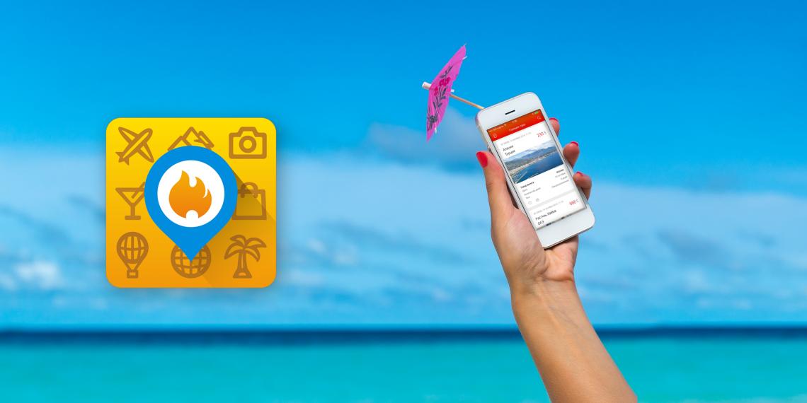 Приложение для поиска «Горящих туров» поможет сэкономить в отпуске