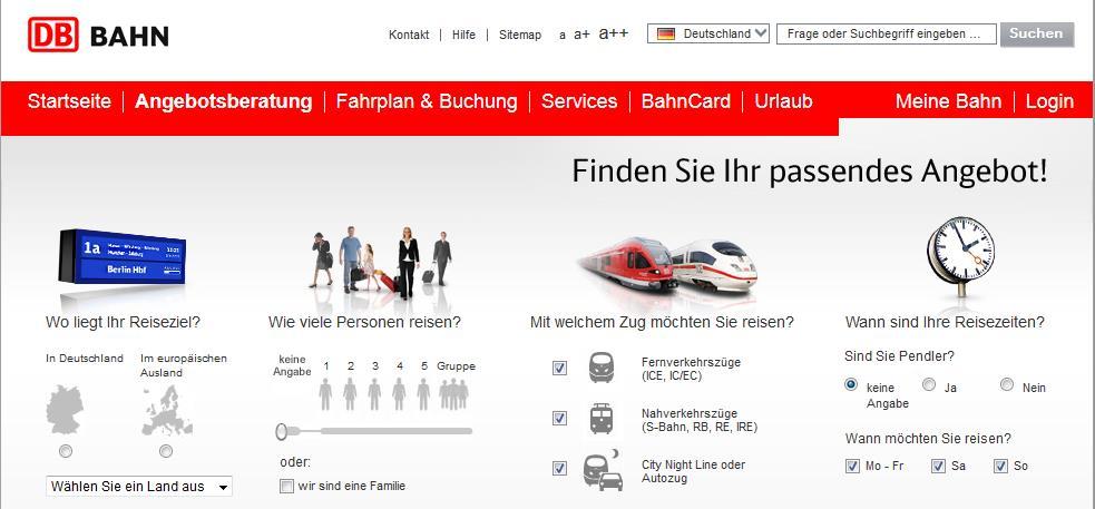 сайт deutsche-Bahn