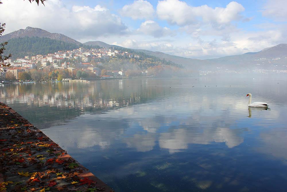 Греция Lake Orestiada