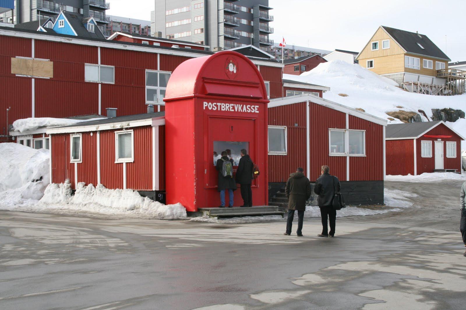 Greenland Santa's House