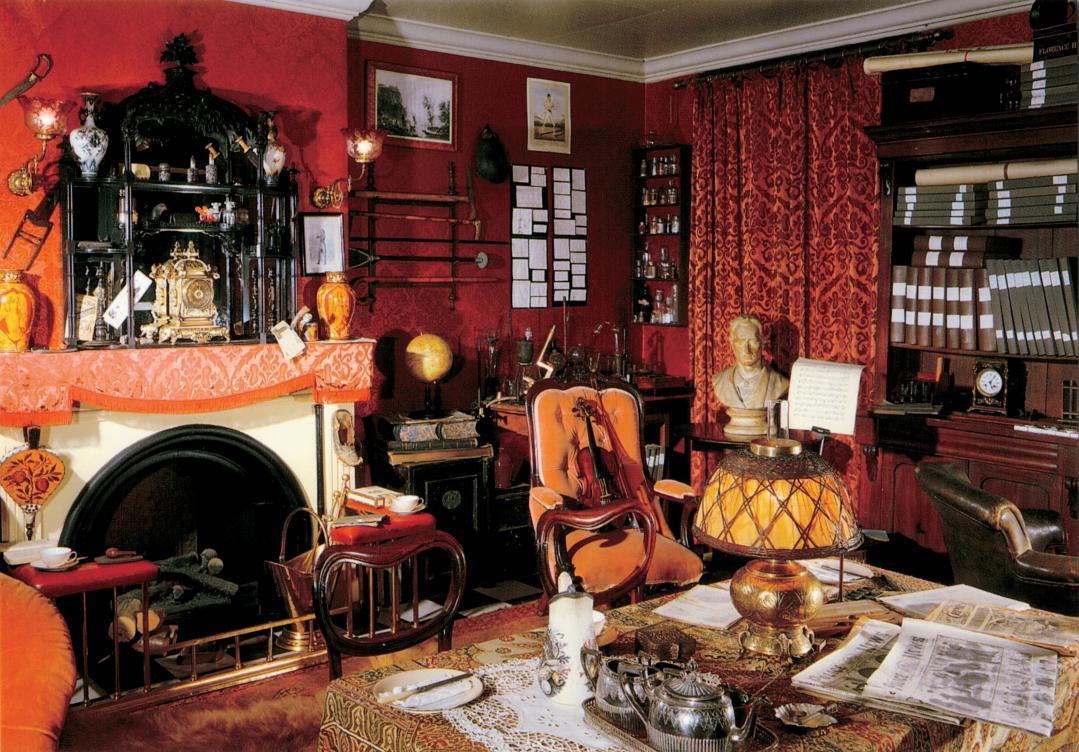 Музей Шерлока Холмса, поездка в Британию