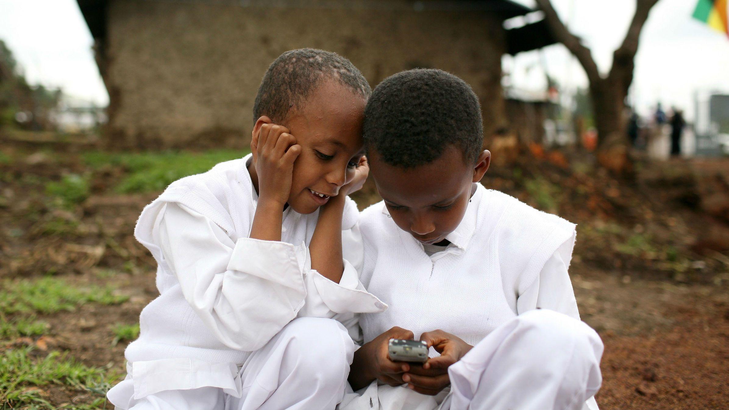 Пять стран интернет в Эфиопии