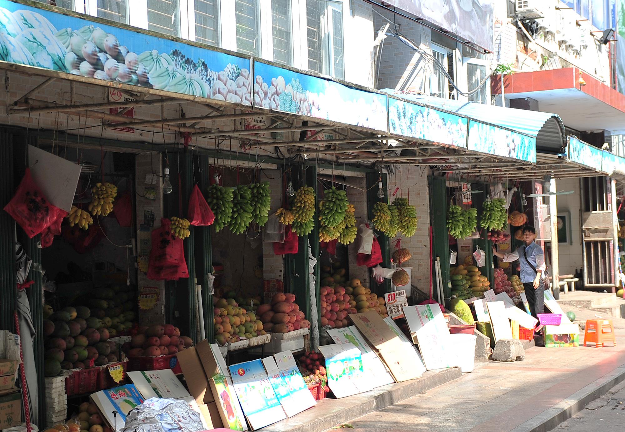 рынок на острове Санья