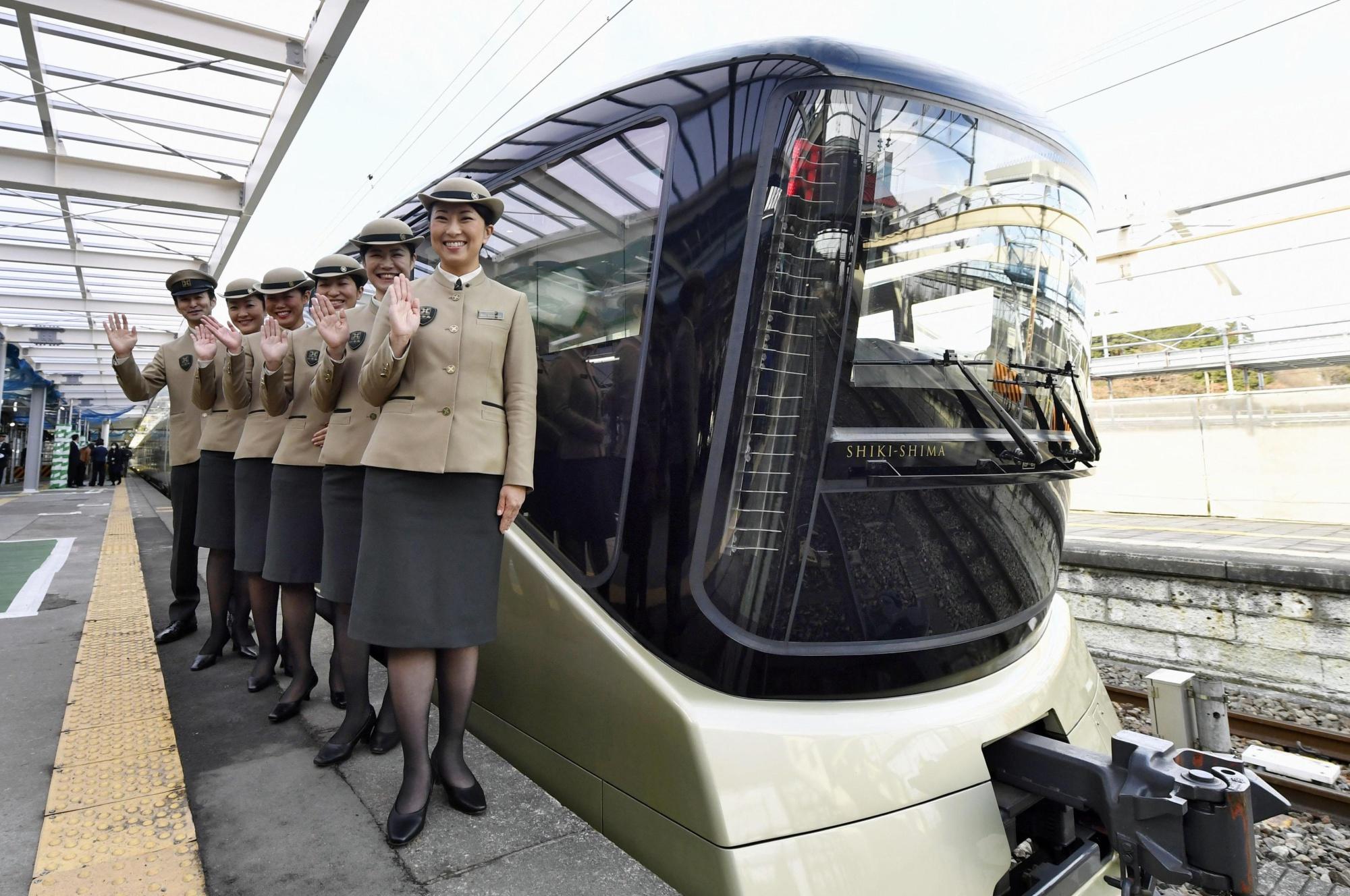 Новый японский поезд